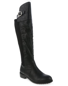 Gino Paoli Knee-High Boots Black