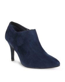 Gino Paoli Pointed Ankle Boots Navy