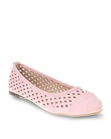 Gino Paoli Diamond Cut Pumps Pink