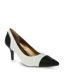Gino Paoli Pointed Heels White