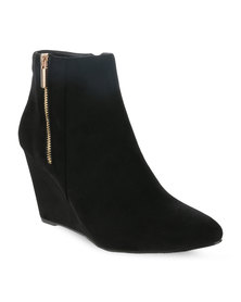 Gino Paoli Wedge Shoes Black