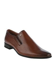 Gino Paoli Formal Slip On Shoe Tan