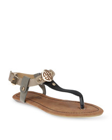 Gino Paoli Emblem Sandals Multi