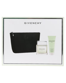 Givenchy Dahlia Noir L'eau 90ml EDT Spray  & 100ml Body Lotion & Pouch Gift Set