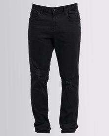 Globe Goodstock Skinny Denim Jeans Black