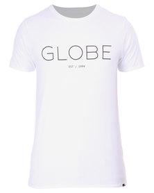 Globe Phase Tee White