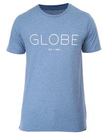 Globe Phase Tee Blue