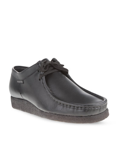 Grasshoppers Softee Leather Shoes Black