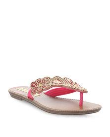 Grendha Shakira Nailah Ad Flip Flops Pink