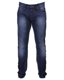 Guess Men's Dylan Denim in Blue Main Wash Jeans