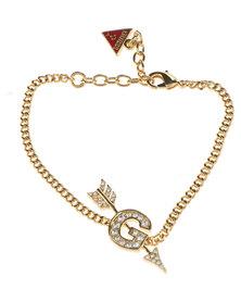 Guess G Arrow Bracelet Gold-Tone