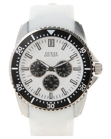 Guess Focus Wristwatch White