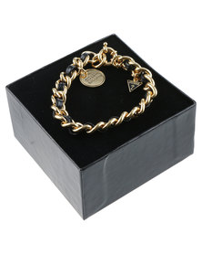 Guess Chain Link Bracelet Gold-Tone