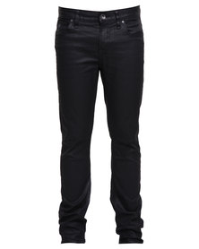 Guess Mens Skinny Jeans in Caelum Wash Black