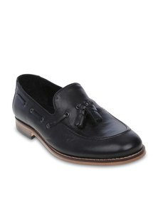 H By Hudson Tyskatu Loafers Black