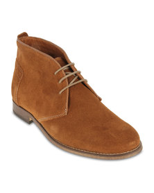 H By Hudson Vasa High Top Shoes Brown