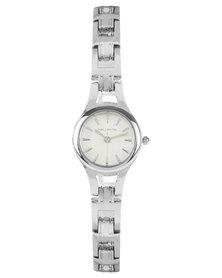 Hallmark Round Dial Bracelet Watch Silver-Toned