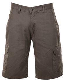 Hammah Cargo Shorts Olive