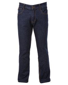 Hammah Work Jeans Blue