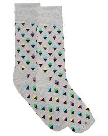Happy Socks Mini Diamond Socks Multi