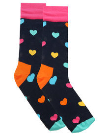 Happy Socks Hearts Socks Multi