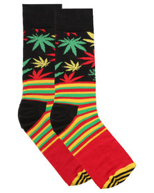Happy Socks Snoop Dogg Stripe Socks Multi