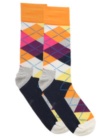 Happy Socks Argyle Socks Multi