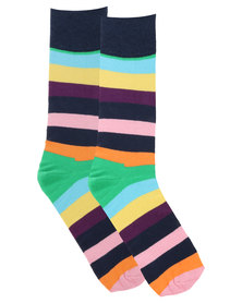 Happy Socks Stripe Socks Multi