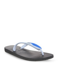 Havaianas Top Mix Men's Flip Flops Black/Blue