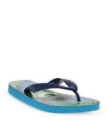 Havaianas Monster Inc Flip Slops Blue