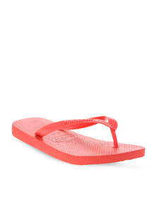 Havaianas Top Flip Flops Red
