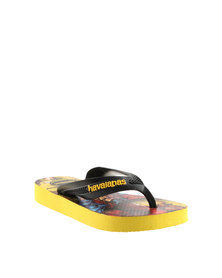 Havaianas Kids Max Herois Flip Flops Yellow