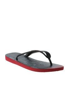 Havaianas Star Wars Flip Flops Red