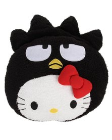 Hello Kitty Face Cushion Black