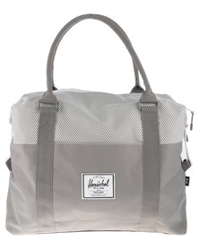 Herschel Strand Micro Dot Duffel Bag Grey