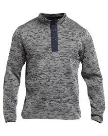 Hi-Tec Briar Knit Sweatshirt Charcoal