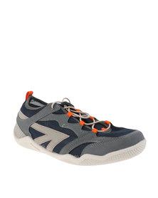 Hi-Tec Wolf River Sandals Grey/Blue