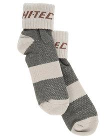 Hi-Tec Elite Hiker Socks Brown