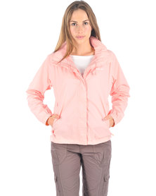 Hi-Tec Pour-Off Shell Rain Jacket Pink
