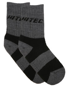 Hi-Tec Elite Hiker Socks Grey