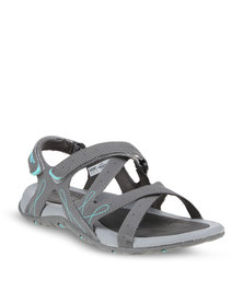 Hi-Tec Waimea Falls Sandals Grey