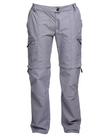 Hi-Tec Rain Forest Zip Off Pants Grey