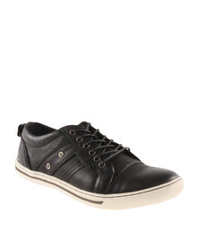 Hi-Tec Carrick Osprey Leather Sneakers Black