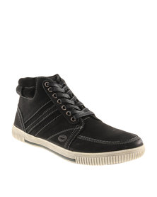 Hi-Tec Carrick Kite Hi Leather Sneakers Black