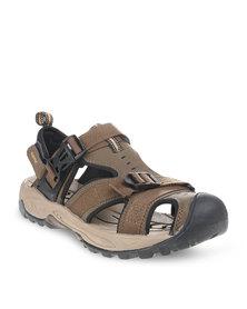 Hi-Tec Advance Sandals Brown