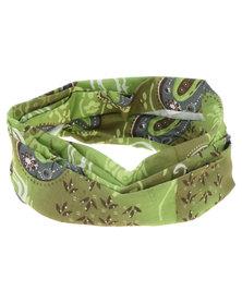 Hi-Tec Temir Tubular Headgear Green