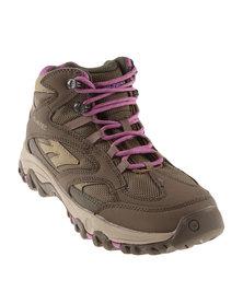Hi-Tec Lima Sport Hiking Boot Brown
