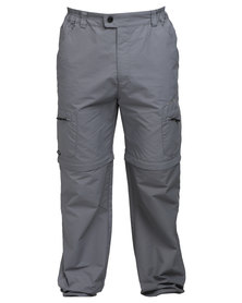 Hi-Tec Amazon Zip Off Pants Grey