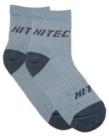 Hi-Tec Ladies Adventure Socks Light Blue