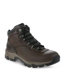 Hi-Tec Altitude WP Hiking Boots Brown